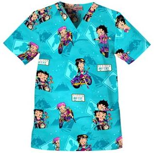 Best Print Scrub Tops