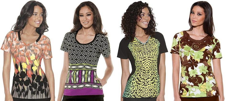 2a13eabc5c8 Cherokee Scrubs Ramps Up with New Baby Phat Prints | Healthcare News ...
