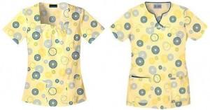 Spiroglyphics print | Cherokee Body Collection | Pulse Uniform